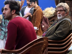 "Amitabh Bachchan ""Needs 4 Chairs To Keep Up With The Enormous Talent"" Of Ranbir Kapoor"