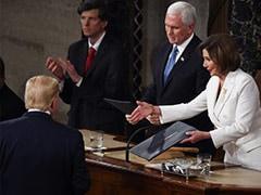 Watch: Trump Skips Nancy Pelosi's Handshake At State Of The Union Address