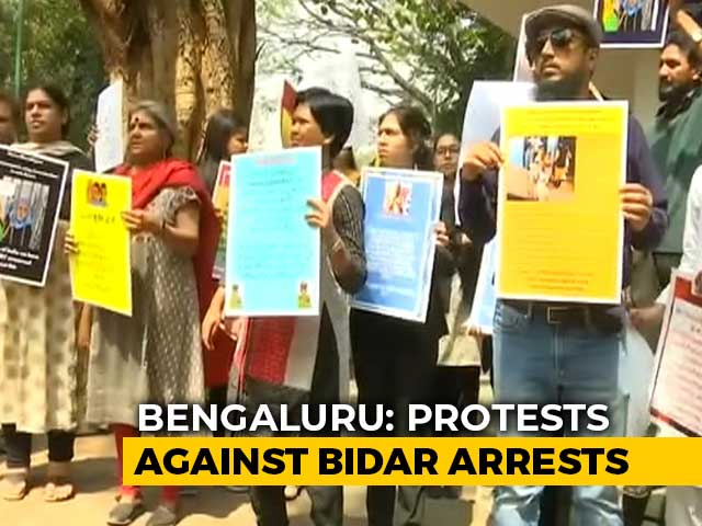 Video : Protests In Bengaluru Over Sedition Case Against School For Anti-CAA Play