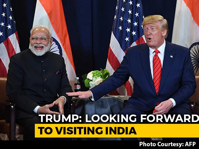"""Video : """"5 To 7 Million People From Airport To Stadium"""": Trump On Ahmedabad Visit"""