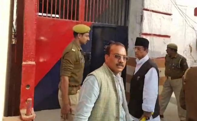 Samajwadi Party's Azam Khan Questioned In Money Laundering Case In UP Jail