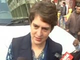 Video : Everyone Should Come Out And Vote: Priyanka Gandhi