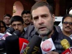 विजुअल्स देख लीजिए मणिक्कम टैगोर ने किसी पर भी हमला नहीं किया : राहुल गांधी