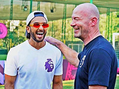 "When Ranveer Singh Met ""Footballing Royalty"" Alan Shearer"