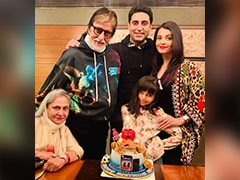 Inside Abhishek Bachchan's Birthday Festivities With Aaradhya, Aishwarya, Jaya And Amitabh Bachchan