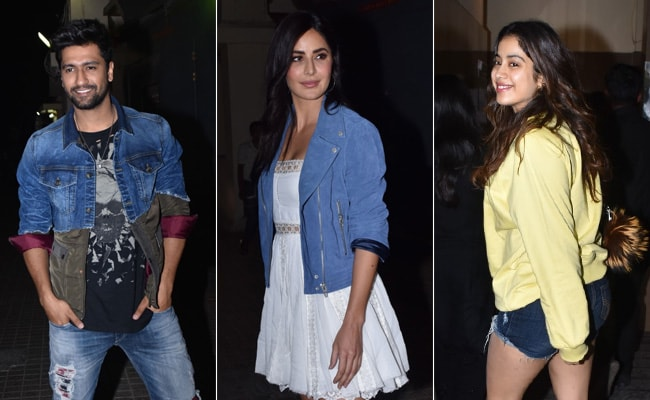 Bhoot: Part One Screening - Katrina Kaif With Sister Isabelle And The Kapoors Cheer For Vicky Kaushal