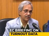 Video : Election Commission Defends Delay In Turnout Figure, Rebuts AAP Video