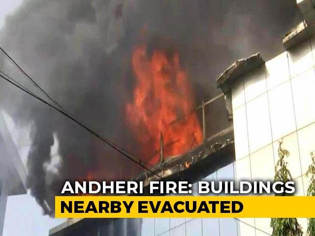 Video : Fire Breaks Out At 3-Storey Commercial Building In Mumbai's Andheri