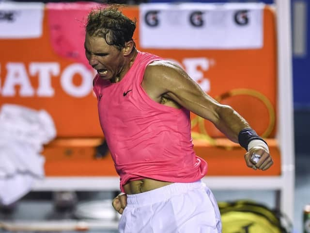 Rafael Nadal Eases Past Grigor Dimitrov To Reach Acapulco Final