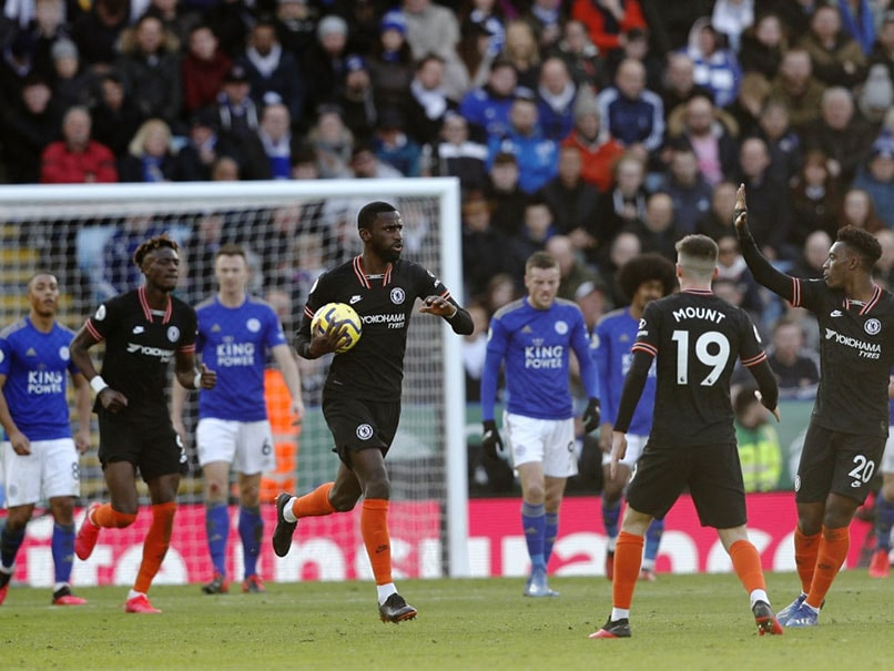 Leicester vs Chelsea: Antonio Rudigers Double Strike Helps Chelsea Draw 2-2 Against Leicester
