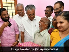 Pinarayi Vijayan Attends House Warming Hosted By Man With Disabilities