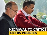 "Video : ""God's Precious Things Free"": Arvind Kejriwal To Critics Of His Policies"
