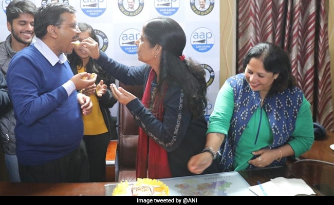 For Arvind Kejriwal, Another Celebration Today - His Wife's Birthday
