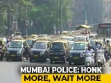Video : Mumbai Police's New Plan: Honk And You'll Wait Longer