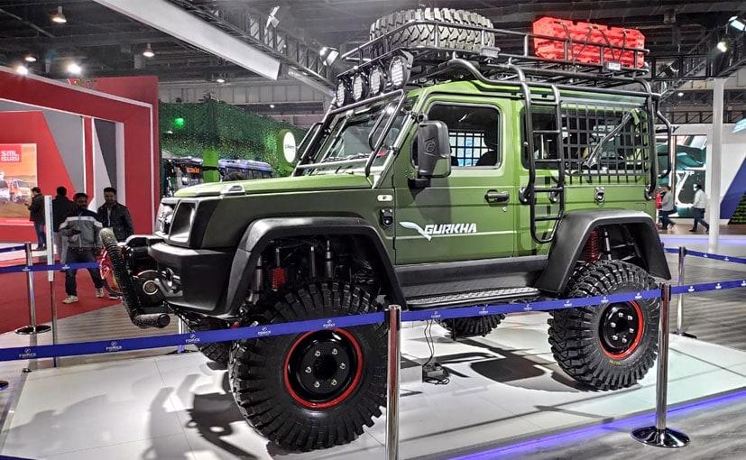 फोर्स ने Auto Expo 2020 शो में कस्टमाइज़्ड गुरखा पेश की है