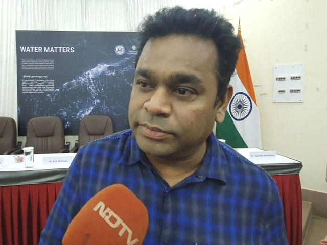 AR Rahman's Dream For Drinkable Tap Water In Tamil Nadu