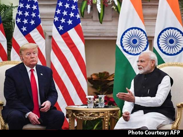 "Video : ""They Love You In India,"" Trump To PM Modi In Media Chat"