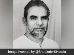 Former Haryana Minister Chaudhary Khurshid Ahmed Dies At 84