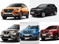 Top 5 Most Fuel-Efficient Compact SUVs In India