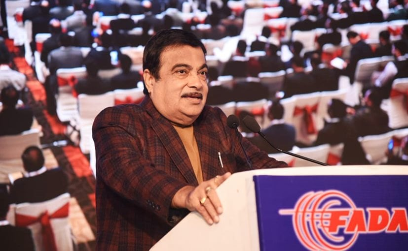 Minister of Road Transport and Highways, Nitin Gadkari speaking at the FADA's 11th Auto Summit 2020