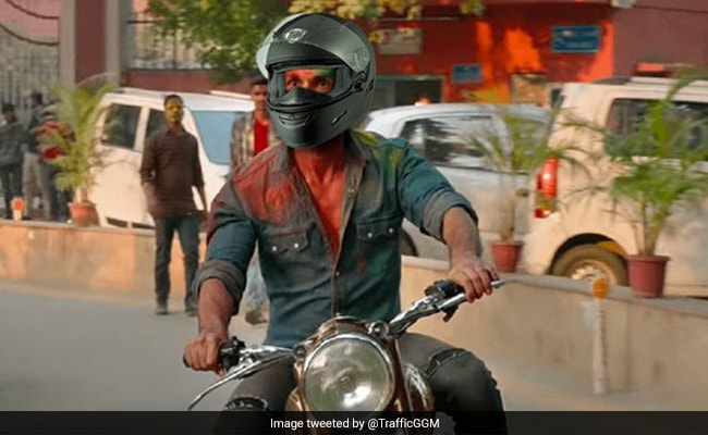 Gurgaon Police's Message To 'Kabir Singh' On Road Safety Leaves Twitter In Splits