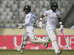 Bangladesh vs Zimbabwe: Bangladesh Dominate Zimbabwe As Najmul Hossain, Mominul Haque Hit Fifties