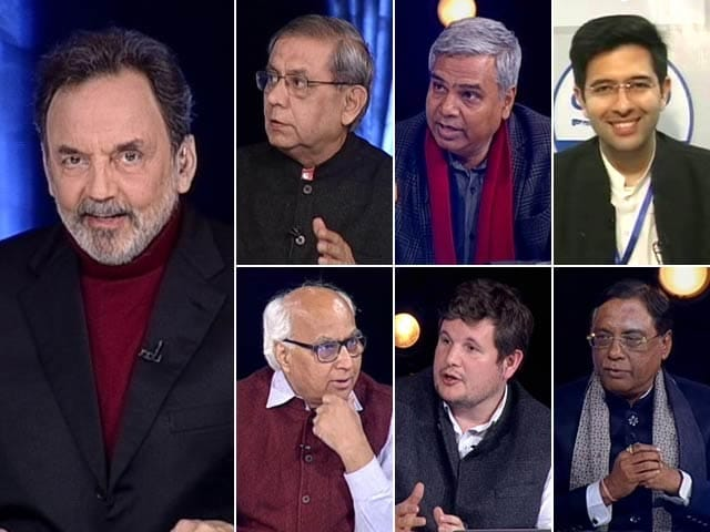 Video : Prannoy Roy's Analysis Of AAP's Massive Win In Delhi