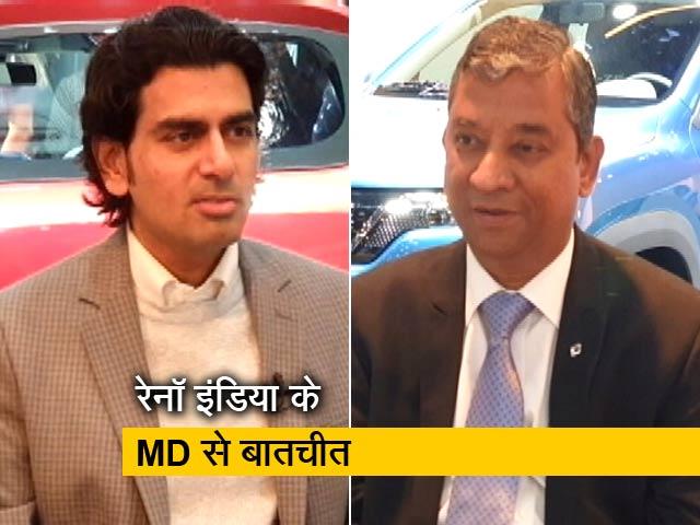 Video : Sponsored: रेनॉ इंडिया के एमडी एंड कंट्री हेड वेकेंटराम मामल्लिापल्ले से NDTV की खास बातचीत