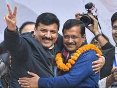 """Who Runs Delhi?"" Arvind Kejriwal Introduces 50 Special Guests At Oath"
