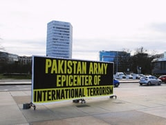 """Epicentre Of Terrorism"": Pak Minorities Put Up Posters Outside UN Office"