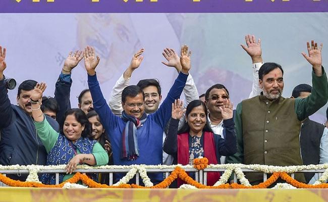 Delhi Results: AAP MLAs To Meet At Arvind Kejriwal's Home On Wednesday
