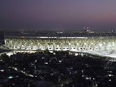 As Trump Visits, Floodlight On 700-Crore Cricket Stadium, World's Biggest