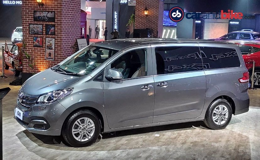 The MG G10 MPV is sold as the Maxus D10 in China