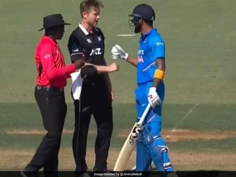 KL Rahul: James Neesham advices his KXIP skipper KL Rahul