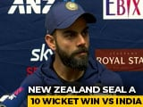 "Video : ""1st Innings Performance Pushed Us Back"": Virat Kohli After India's 10-Wicket Loss"