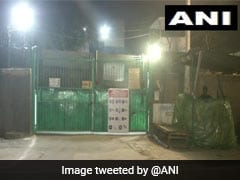 Delhi Results: AAP Workers Stand Guard Outside Voting Machine Strongrooms To Keep Vigil