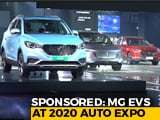 Sponsored: MG EVs At 2020 Auto Expo