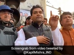 Video Of BJP's Kapil Mishra's Speech Played In Courtroom On Judges' Order