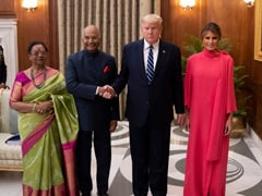 A Roundup Of Melania Trump's Chic Looks During India Visit