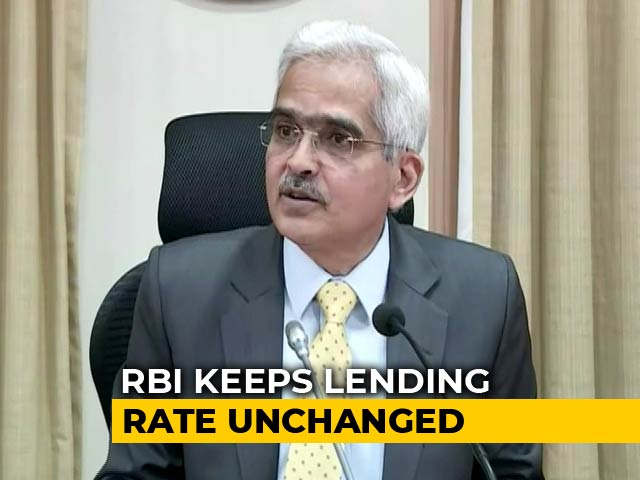 Video : RBI Maintains Status Quo On Monetary Policy