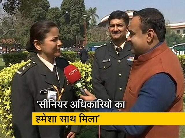 Video : सुप्रीम कोर्ट के फैसले को महिला सैन्य अधिकारी ने बताया ऐतिहासिक