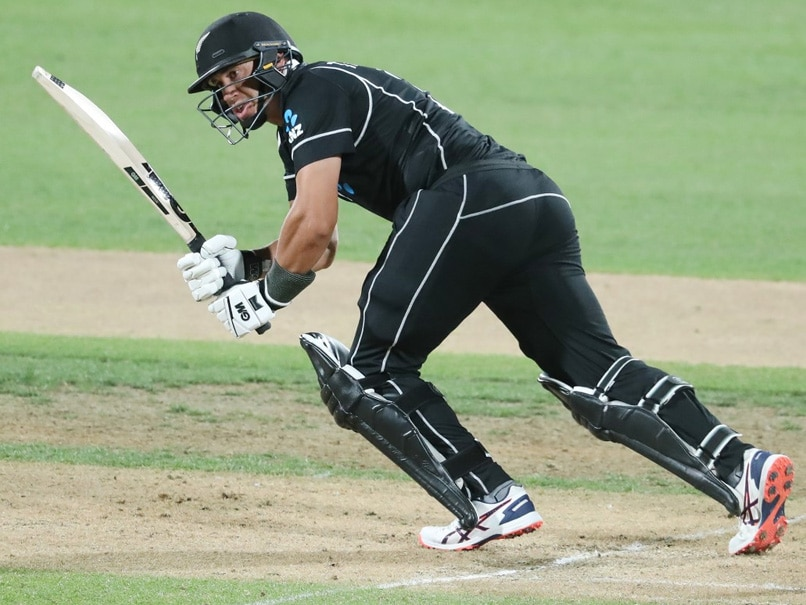 New Zealand vs India 1st ODI Highlights: Ross Taylor Guides New Zealand To Four-Wicket Win vs India