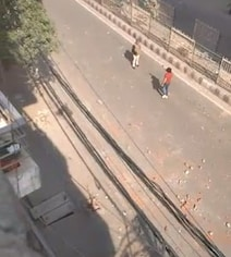 Watch: Man Opens Fire In Front Of Cop During Delhi CAA Clashes