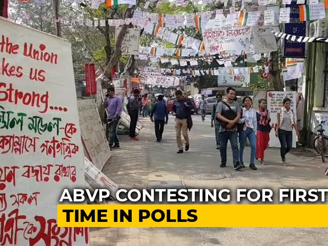 Video : ABVP To Contest 9 Of 13 Seats In Jadavpur University Election