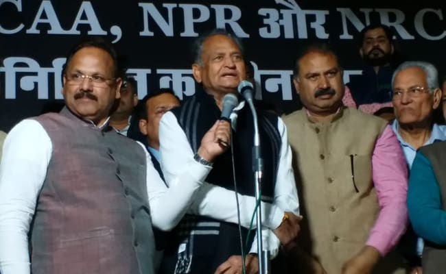 'Don't Know Parents' Birthplace, Will Go To Detention Camp': Ashok Gehlot