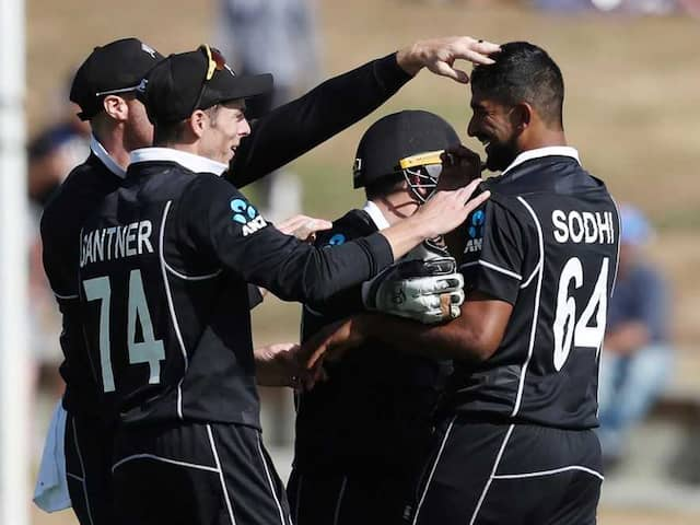 NZ vs IND: Ish Sodhi, Blair Tickner Added To New Zealand Squad For 3rd ODI