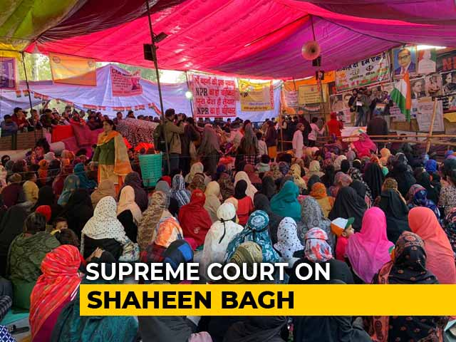 Video : Supreme Court's Mediators To Talk To Shaheen Bagh Protesters On Shifting