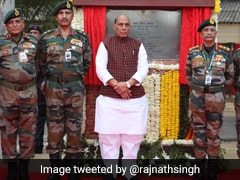 Rajnath Singh Lays Foundation Stone Of New Army Headquarters In Delhi
