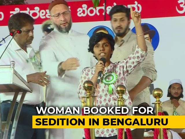 "Video : ""Long Live All Countries"": Woman, Arrested For Sedition, Had Said In Post"
