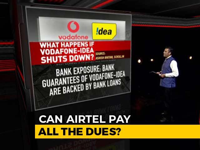 Video : Airtel, Jio To Gain If Vodafone Idea Exits?